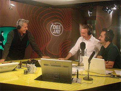 Claudio Baglioni ospite A Deejay Chiama Italia