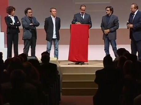 2009: Massimo Lopez presentava La Carica di 101 con Cavallone