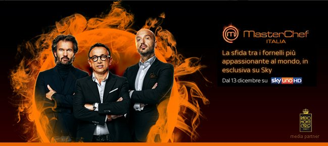 Radio Monte Carlo è media partner di MasterChef