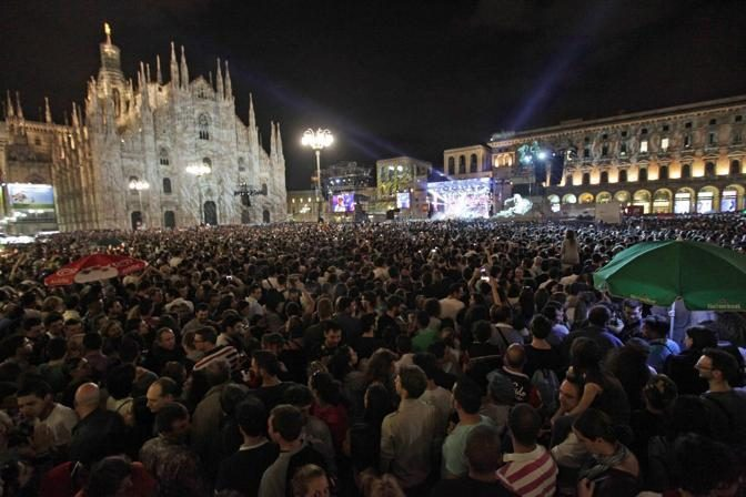 Il 1° giugno 2014 Radio Italia in Piazza Duomo a Milano