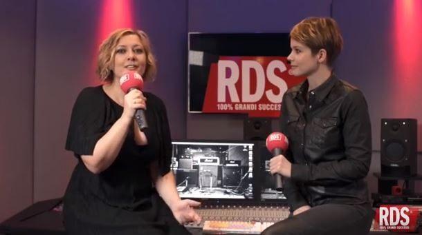Rosaria Renna di RDS intervista Andrea Osvart