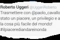Ancora dimostrazione di affetto per Paolo Cavallone