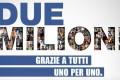 Radio Italia taglia un bel traguardo e ringrazia