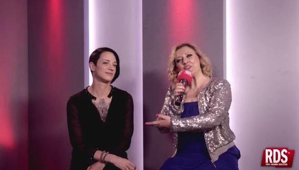 Rosaria Renna di RDS intervista Asia Argento