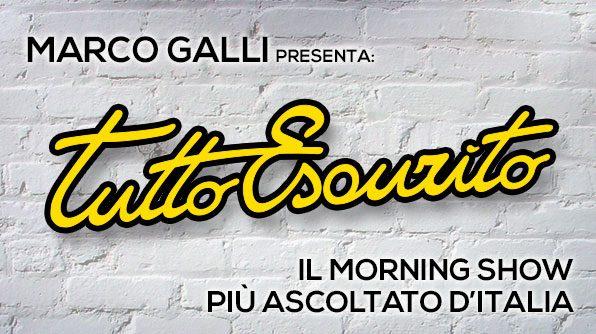 """""""Tutto esaurito"""" è il morning show più ascoltato d'Italia"""