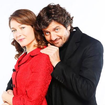 Fabio De Luigi e Cristina Capotondi