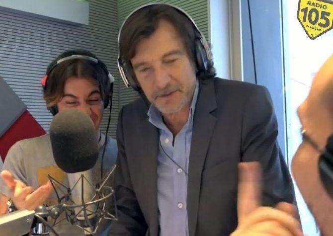Il video di Claudio Cecchetto ospite allo Zoo di 105 di Marco Mazzoli