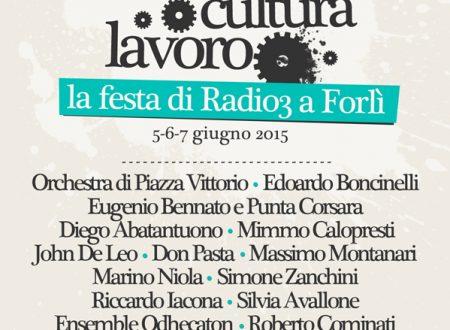 La festa di Radio3 Rai a Forlì