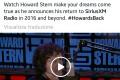 Howard Stern is back