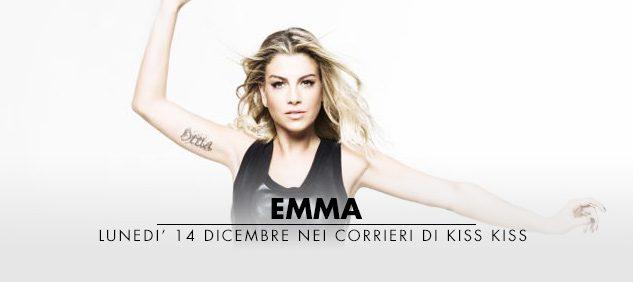 Lunedì 14 dicembre EMMA in diretta a RADIO KISS KISS