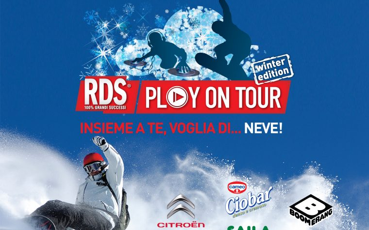 RDS PLAY ON TOUR INVERNO 2016