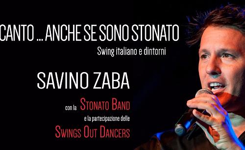 Savino Zaba per la prima volta a Foggia, al Teatro Giordano