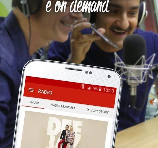 Le video recensioni delle app radio: Radio Deejay
