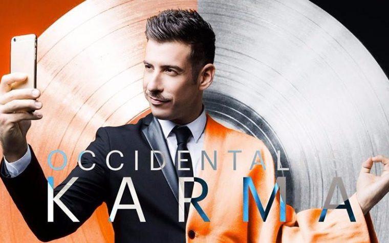Francesco Gabbani, in diretta su radio 105 oggi 1/3 alle 18.00
