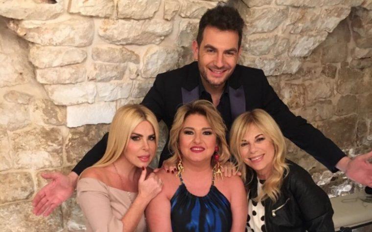 """Su Radionorba """"Le donne lo sanno"""" con Alan Palmieri, Monica Setta, Rita Dalla Chiesa e Loredana Lecciso"""