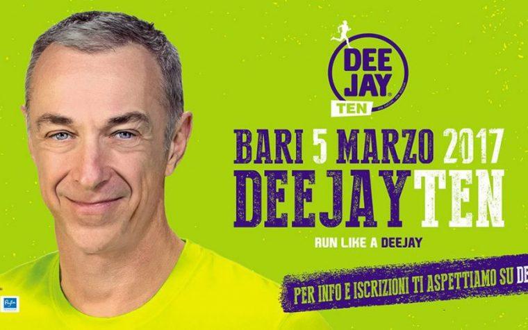 Domenica Radio Deejay corre a Bari
