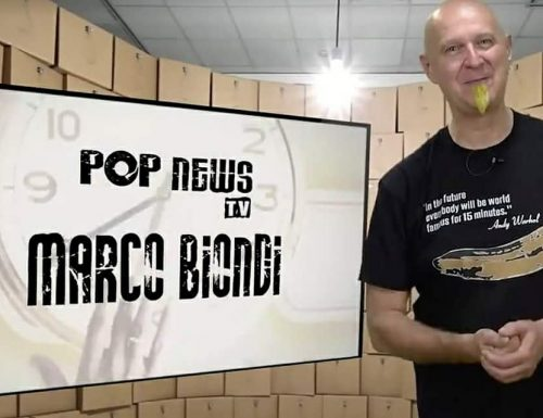Pop News Tv: al telefono con Marco Biondi