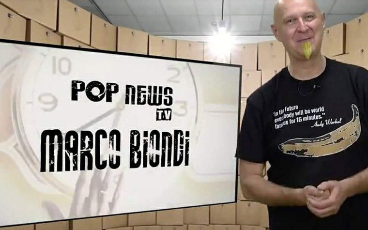 Pop News Tv: al telefono con Marco Biondi