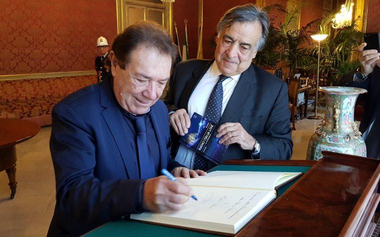 La cittadinanza onoraria di Palermo a Mario Volanti