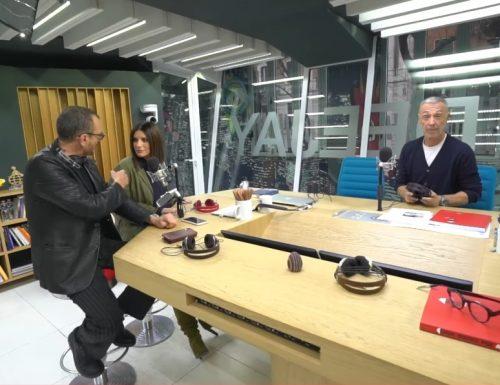 Laura Pausini e Biagio Antonacci ospiti a Deejay Chiama Italia