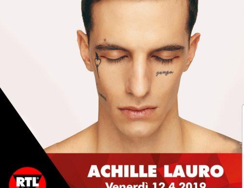 #Ora, Achille Lauro su RTL 102.5
