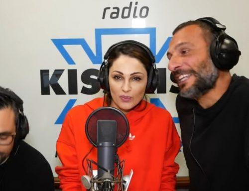 Anna Tatangelo ospite a Radio Kiss Kiss: il video