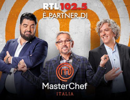 RTL 102.5 seguirà MASTECHEF ITALIA