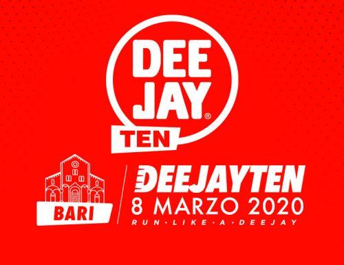 La DeeJay Ten ritorna a Bari