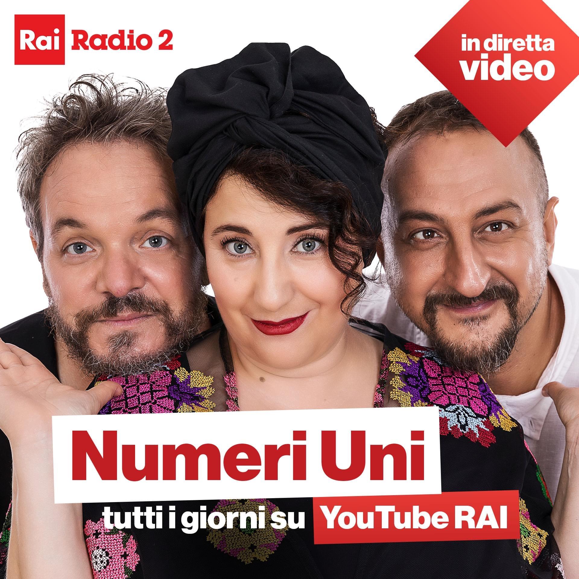 Numeri Uni - Radio2 Rai
